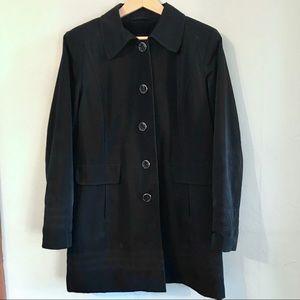 ESPRIT vintage 90s black overcoat